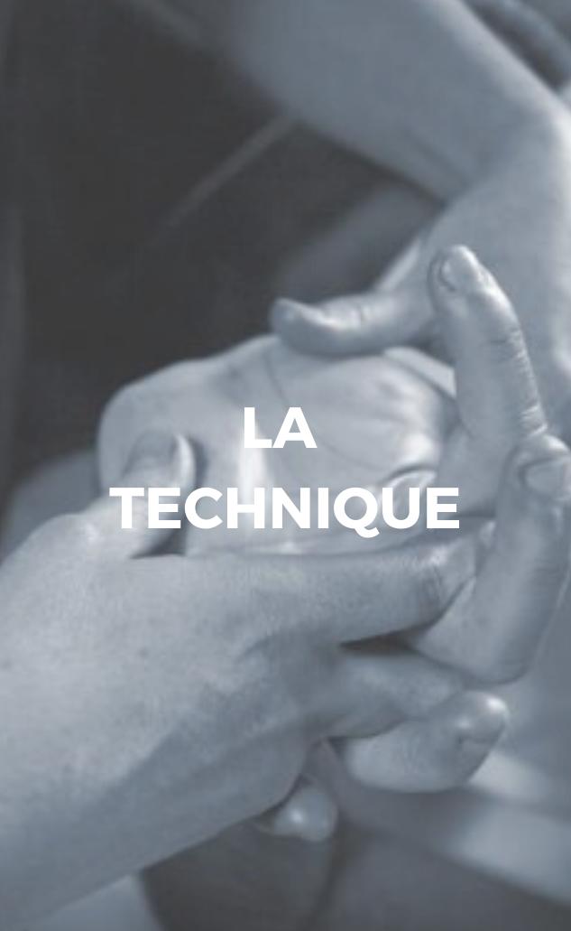 Technique de massage École de massage À fleur de peau